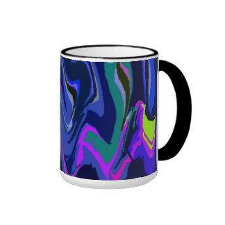 Rhythm of Color 3 Blue Mug