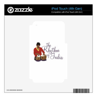 Rhythm of India iPod Touch 4G Decal