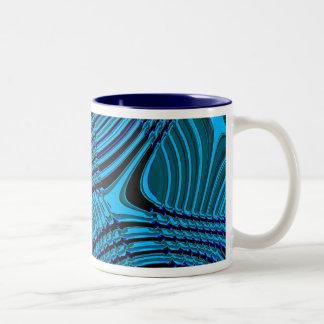 Rhythm of the sheets Two-Tone coffee mug