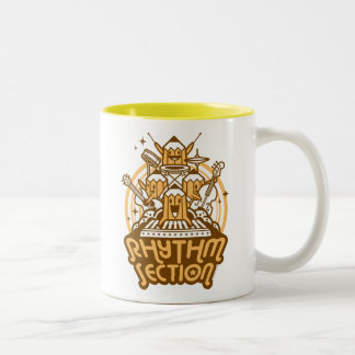 rhythm-section Two-Tone coffee mug