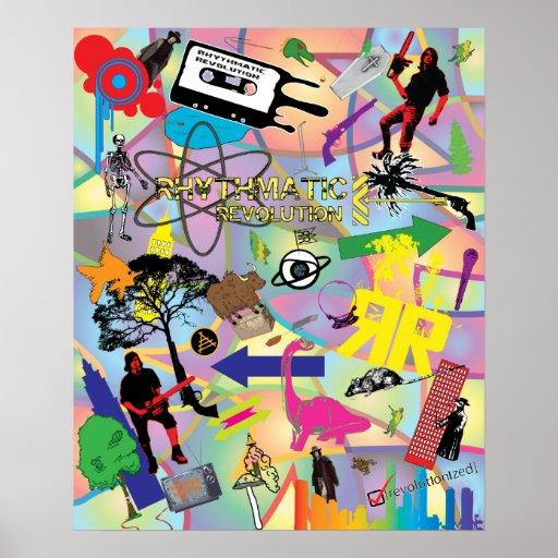 Rhythmatic Revolution Montage Poster