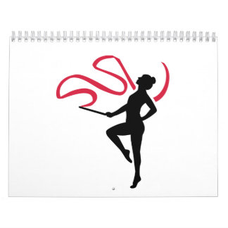 Rhythmic gymnast calendar