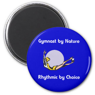 Rhythmic Gymnast Choice 2 Inch Round Magnet