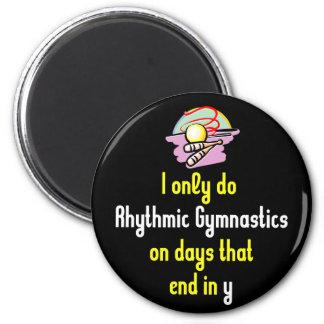 Rhythmic Gymnastic Days 2 Inch Round Magnet