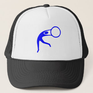 Rhythmic Gymnastic Figure - Blue Trucker Hat