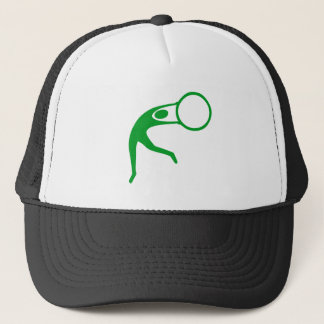 Rhythmic Gymnastic Figure - Grass Green Trucker Hat