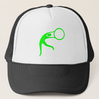 Rhythmic Gymnastic Figure - Green Trucker Hat