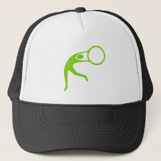 Rhythmic Gymnastic Figure - Martian Green Trucker Hat