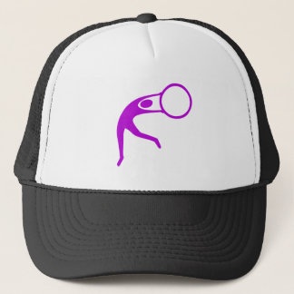 Rhythmic Gymnastic Figure - Purple Trucker Hat