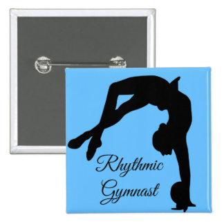 """Rhythmic Gymnastics button pin """"gymnast gifts"""""""