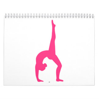 Rhythmic Gymnastics Wall Calendars