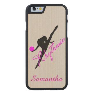 Rhythmic Gymnastics Carved® Maple iPhone 6 Slim Case