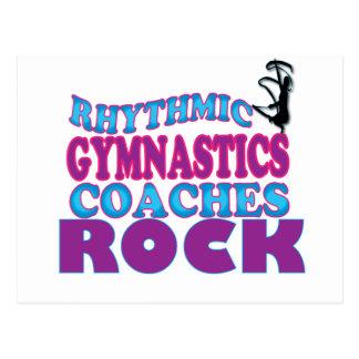 Rhythmic Gymnastics Coaches Gifts Postcard
