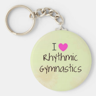 Rhythmic Gymnastics gifts and accessories Keychain
