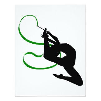 Rhythmic Gymnastics Invitations