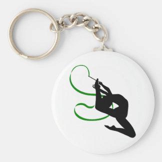 Rhythmic Gymnastics Keychain