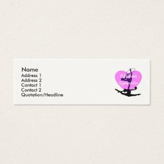 Rhythmic Gymnastics Mini Business Card