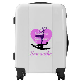 Rhythmic Gymnastics Personalized carry on luggage