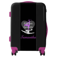 Rhythmic gymnastics personalized luggage