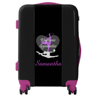 Rhythmic gymnastics personalized luggage