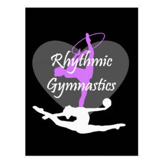 Rhythmic Gymnastics Postcard