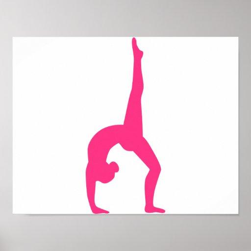 Rhythmic Gymnastics Poster Zazzle