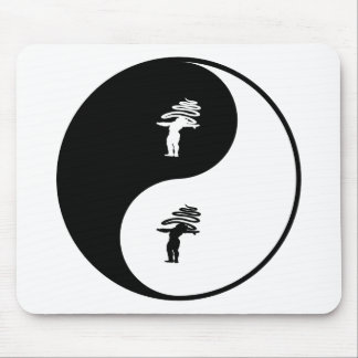 Rhythmic Gymnastics Yin Yang Mouse Pad