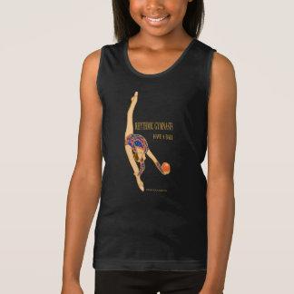 Rhythmic Gymnasts Have A Ball Girls Tank Top