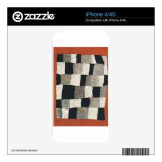 Rhythmic (Rythmical) by Paul Klee Decal For The iPhone 4