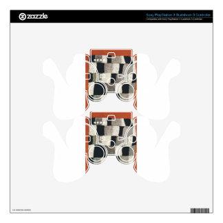 Rhythmic (Rythmical) by Paul Klee PS3 Controller Skins