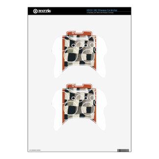 Rhythmic (Rythmical) by Paul Klee Xbox 360 Controller Skin