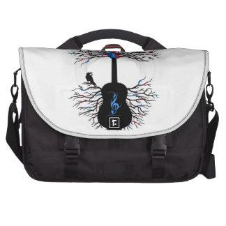 Rhythms of the Heart - ( surreal guitar art ) Laptop Bag