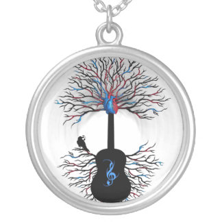 """""""Rhythms of the Heart"""" ~ Surreal Guitar - Necklace"""