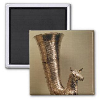 Rhyton bajo la forma de cabra montés de Irán Iman De Nevera