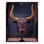Rhyton in the shape of a bull's head, posters