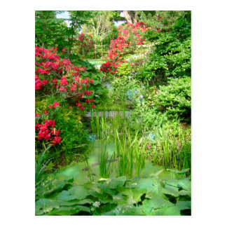 RI Garden postcard