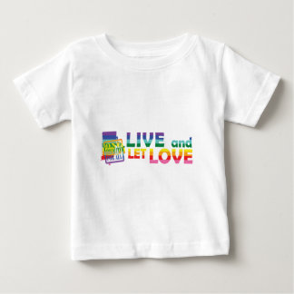 RI Live Let Love Baby T-Shirt