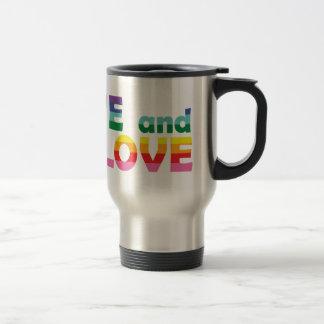 RI Live Let Love Travel Mug