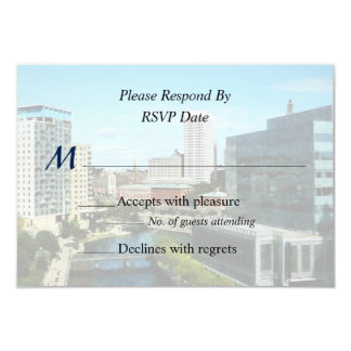 RI - Providence RI Skyline Card