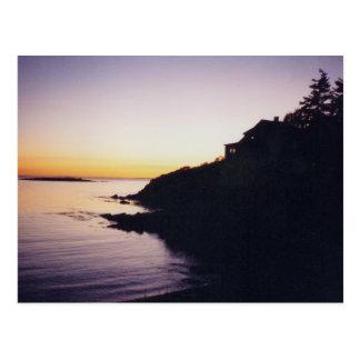 RI sunsets postcard 2