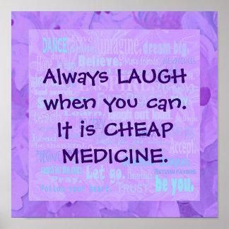 ría cuando usted puede póster