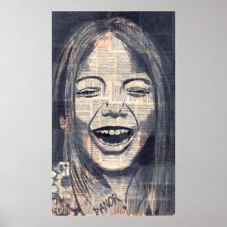 ría la original del chica 4# el | firmada por dano poster