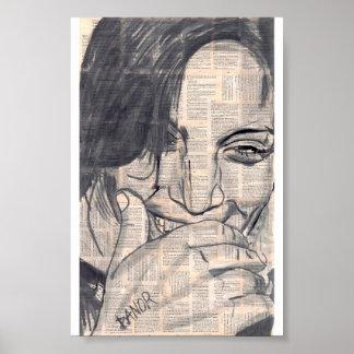 ría la original del chica 5# el | firmada por dano posters
