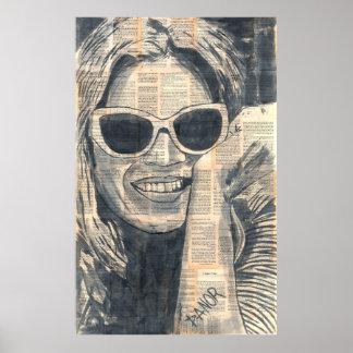 ría la original firmada el | del chica 8# por dano poster