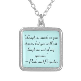 Ría tanto como usted elige la cita de Jane Austen Collar