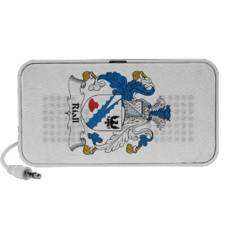 Riall Family Crest iPhone Speakers