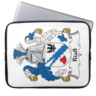 Riall Family Crest Laptop Sleeves