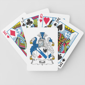 Riall Family Crest Playing Cards