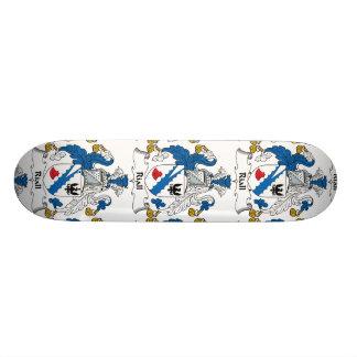Riall Family Crest Skate Board