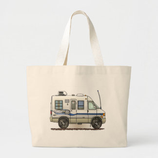 Rialta Winnebago Camper RV Tote Bags